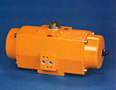 E & P Series Pneumatic Rack and Pinion Rotary Actuator