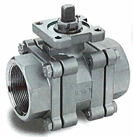 3-Piece Process Ball Valves