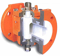 2-Way Fully Lined Plug Valve