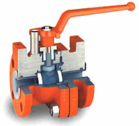 Full Port Lined Ball Valve 1