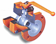 Standard Port Lined Ball Valve